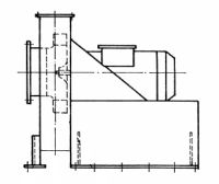 Radiální ventilátor RVK 800 - 1250